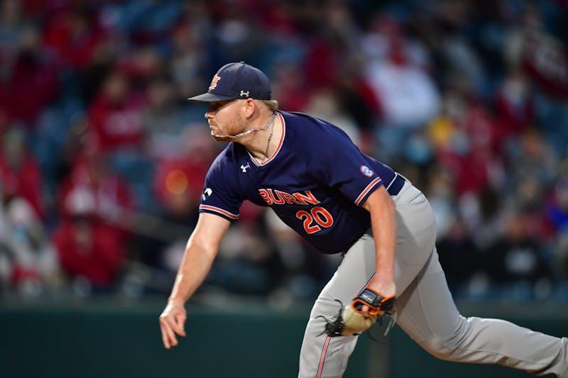Cody Greenhill on the mound. Photo via SEC Media Portal.