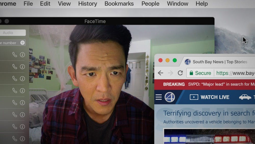 """Searching"" finds a great, thrilling film"