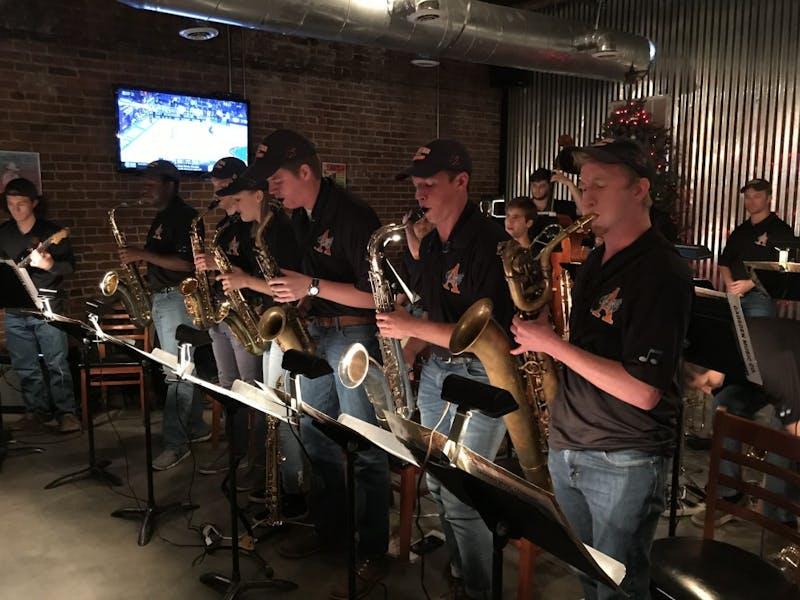 2018-19 Auburn University Jazz Ensemble.