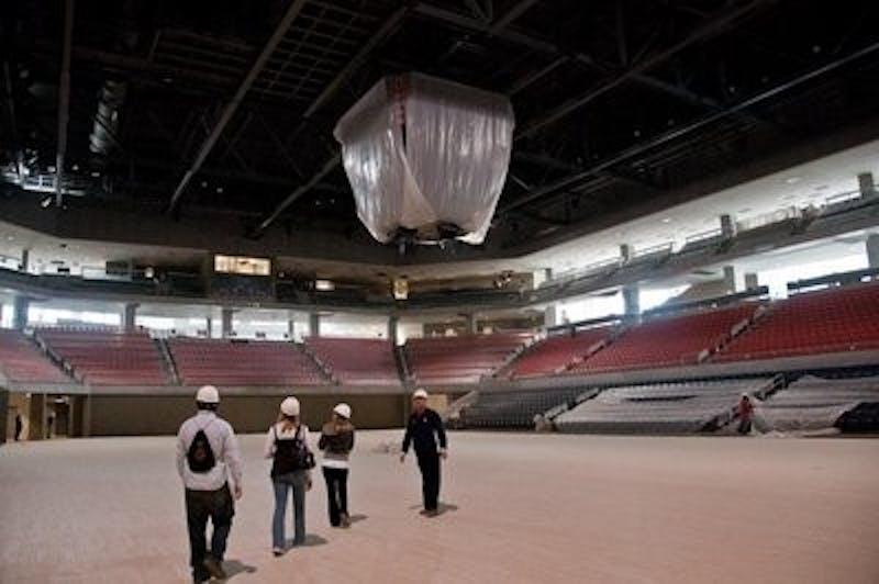 The New Auburn Arena