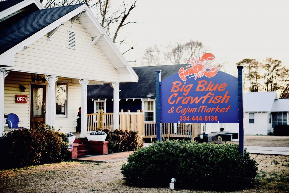 Big Blue Crawfish and Cajun Market opens storefront in Opelika