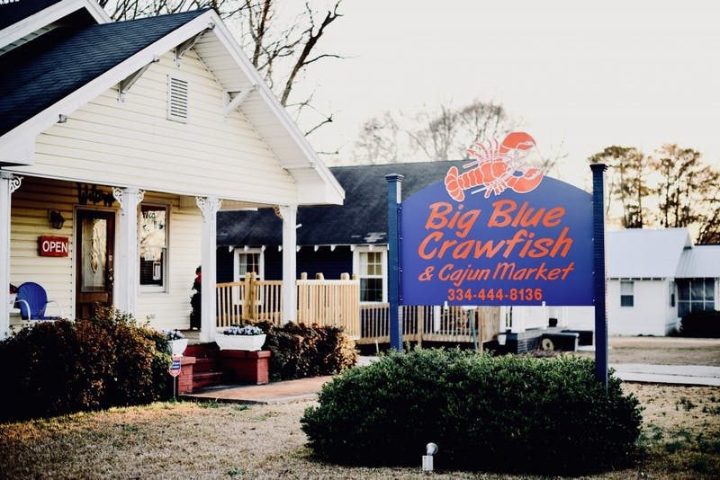 Big Blue Crawfish on Wednesday, Feb. 13, 2019, in Auburn, Ala.