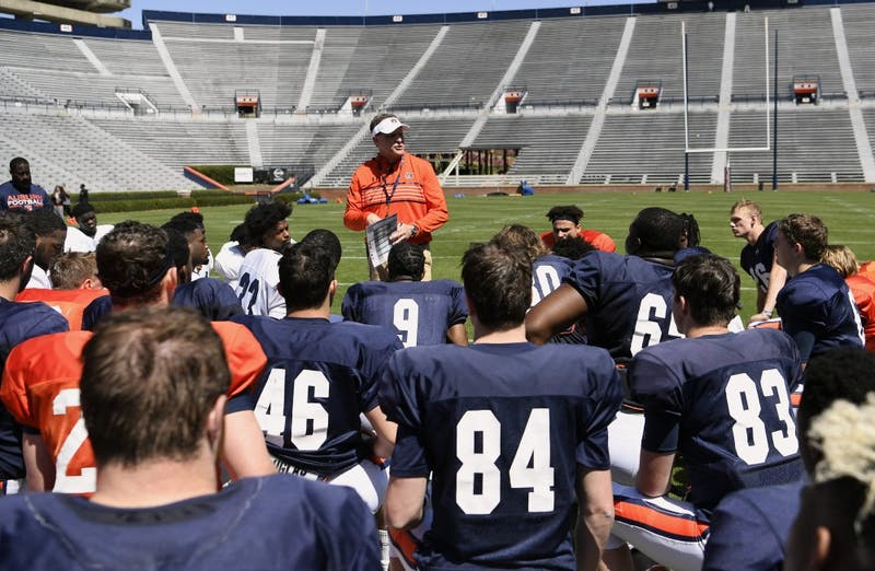 GALLERY: Auburn football pads practice | 3.23.19