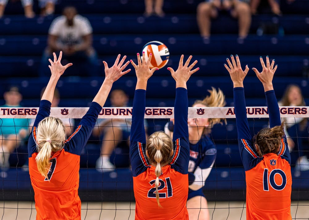 Auburn volleyball heads into SEC play after sweeping Belmont