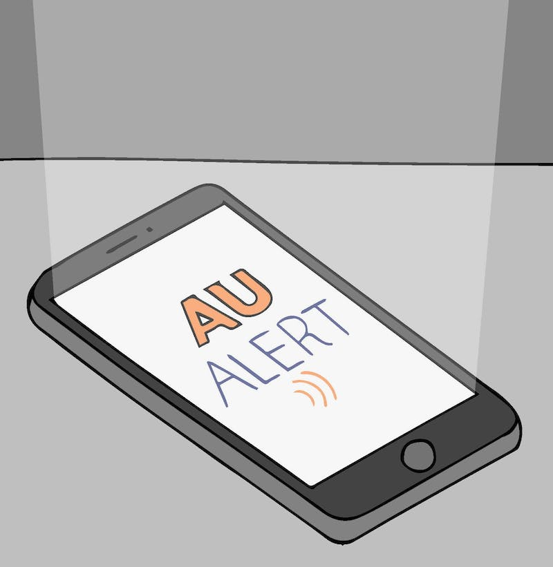 Campus Safety issues AU Alerts to notify people of dangers and suspicious activities either on campus property or those that have the potential to end up on campus property.