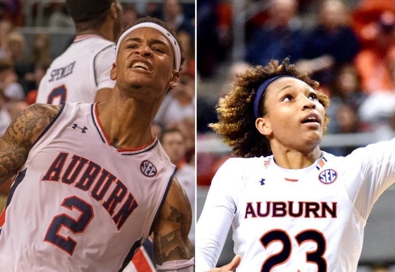 Bryce Brown (2) and Crystal Primm (23). Respective photos by Joshua Fisher, photographer; and Madison Ogletree, photo editor.