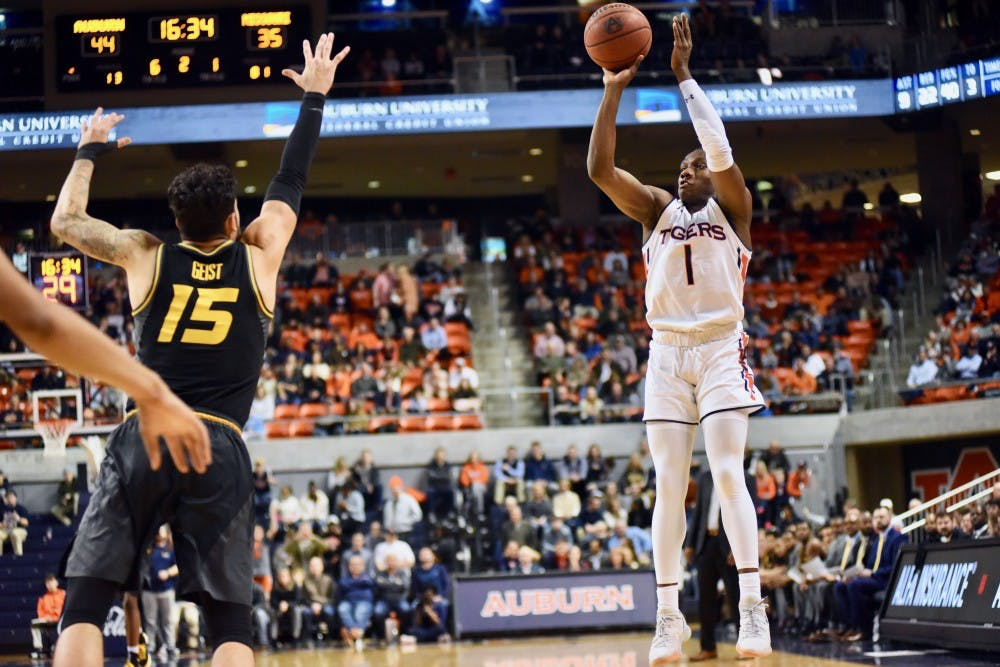 Auburn blows out Missouri to end losing streak