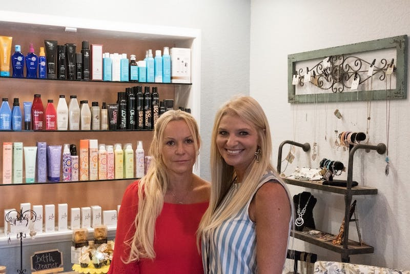 Spa owners Manon Moates and Michele Kidwell