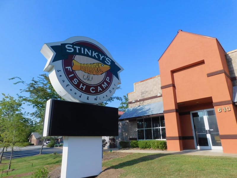 Stinky's Fish Camp is closed as of Tuesday, Sept. 17.