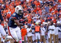 Jatarvious Whitlow (28) during Auburn Football vs. LSU on Saturday, Sept. 15, 2018 in Auburn, Ala.