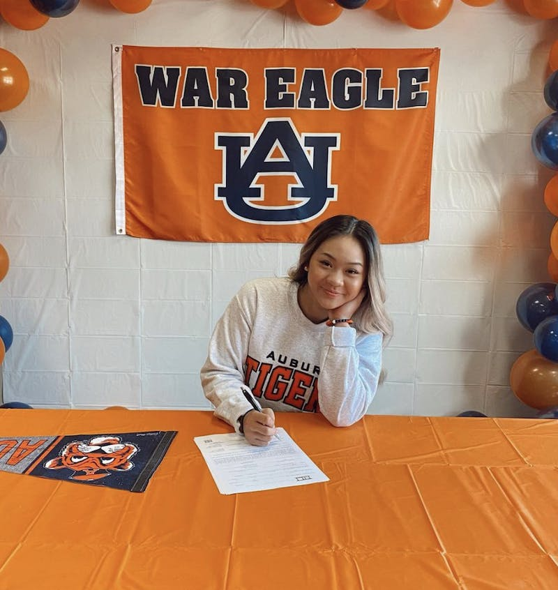 Sunisa Lee first verbally committed to Auburn when she was 14.
