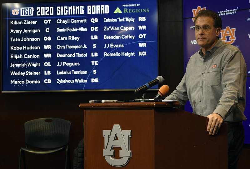 Auburn football signing day on Wednesday, Dec. 18, 2019 in Auburn, Ala. Todd Van Emst/AU Athletics