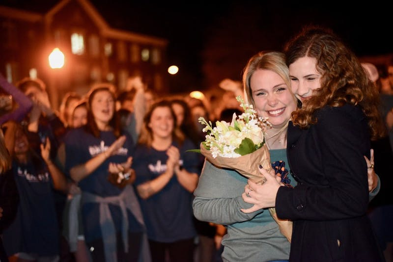 Laura Davenport wins Miss Auburn on Tuesday, Feb. 5, 2019, in Auburn, Ala.