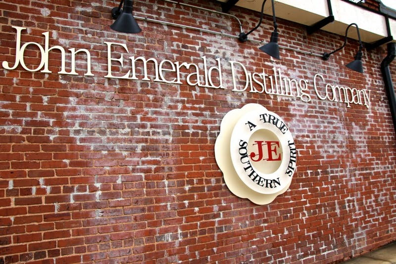 John Emerald Distilling Company begins making hand sanitizer for people in the Auburn and Opelika communities.