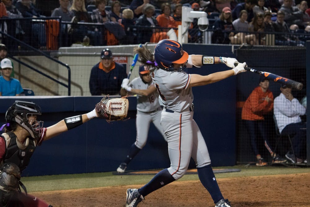 Auburn softball falls to Missouri State, Louisiana Tech as offense slows down