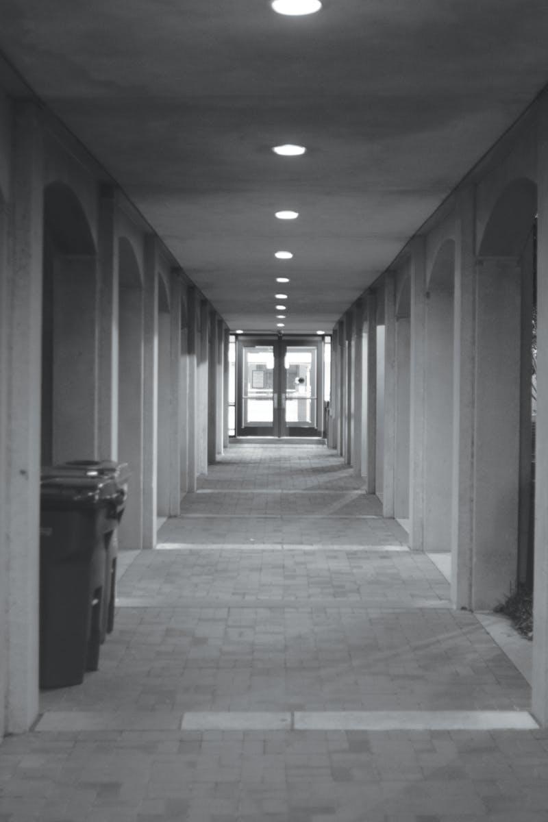 Breezeway entrance to RBD in Auburn, Ala.