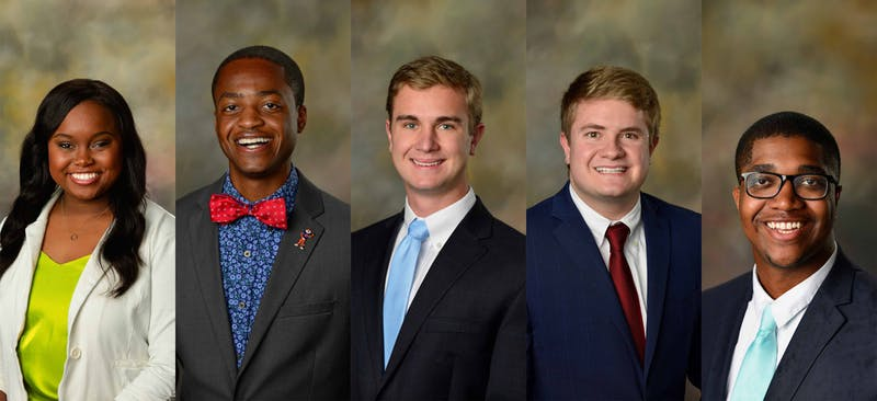 Candidates for SGA president debated at 6 p.m. on Monday, Feb. 3, 2020.