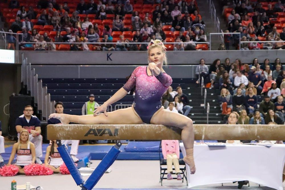Gymnastics ranked No. 14 in preseason poll