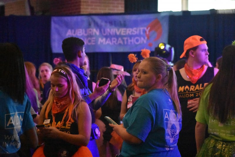Last year's AUDM main event raised $568,417. This year, they raised $354,682.