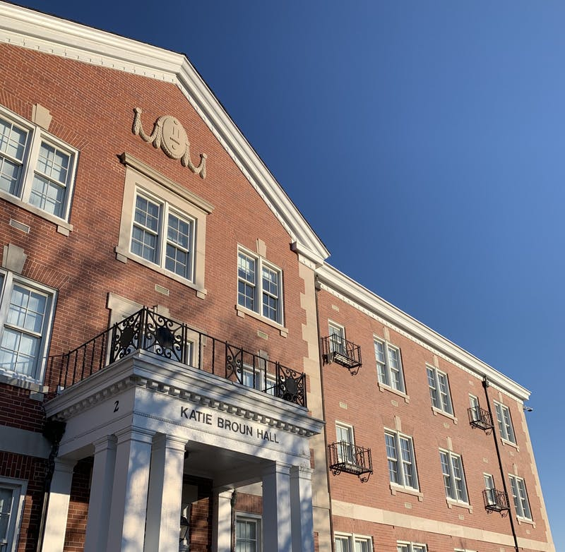 Katie Broun Hall is named after the daughter of William Leroy Broun, a Confederate officer.