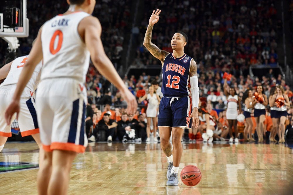 Projecting Auburn Basketball S 2019 20 Depth Chart After Nba