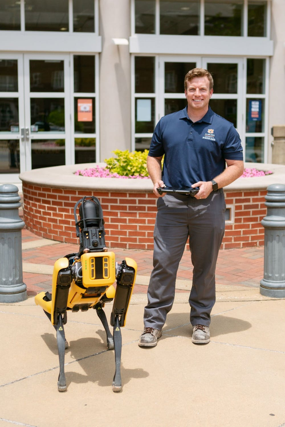 Mac the robotic dog breaking ground in construction technology