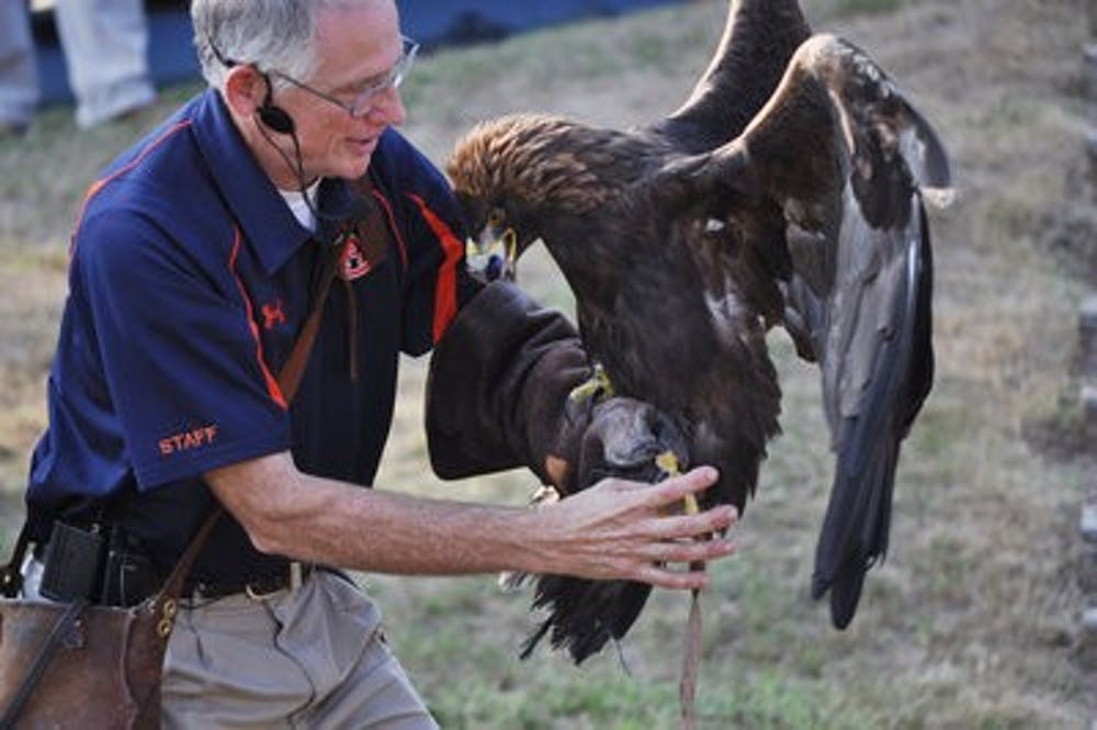 Raptor demonstration continues with tradition