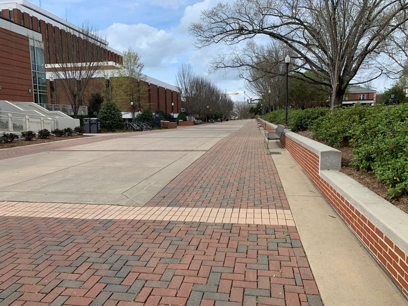 The Haley Concourse on March, 23, 2020, in Auburn. Ala.