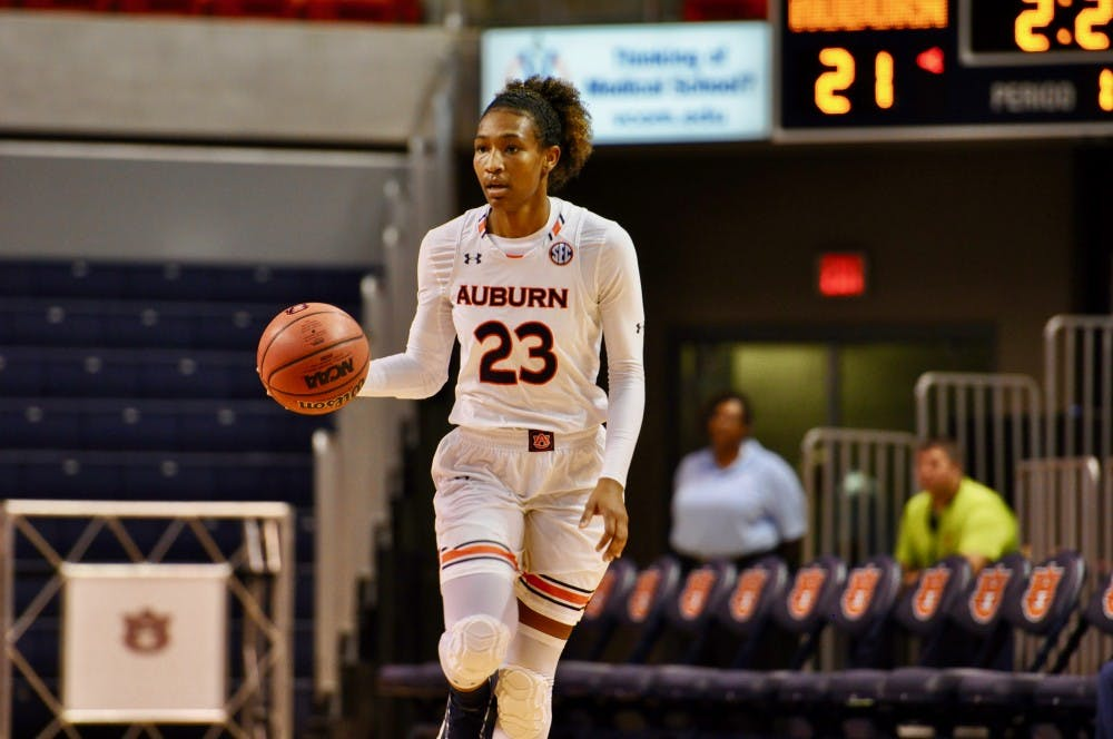 Auburn women's basketball moves to 9-1 with win over UNC