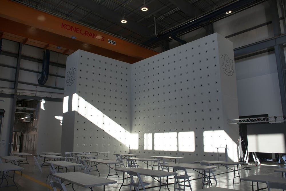 An inside look at Auburn's Advanced Structural Engineering Lab