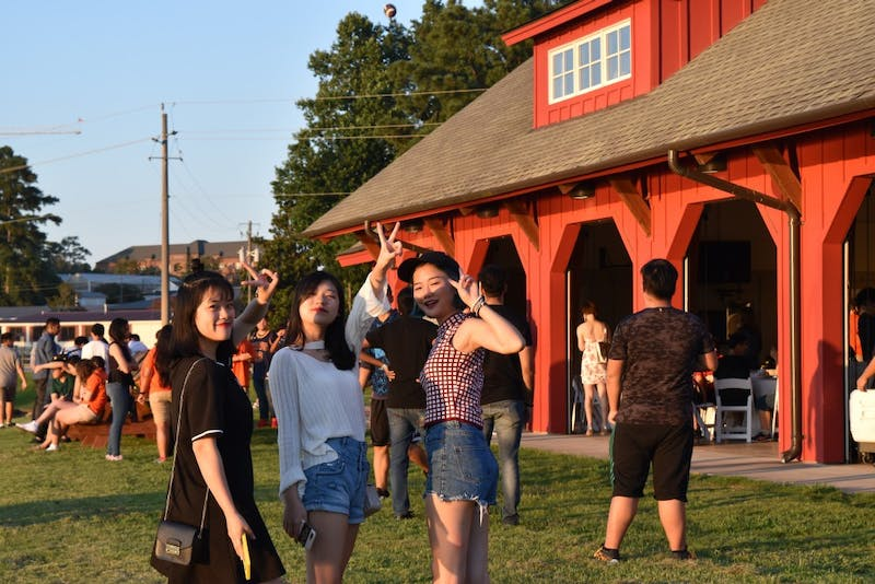 Incoming international students finished their orientation week with an Auburn Global social event.