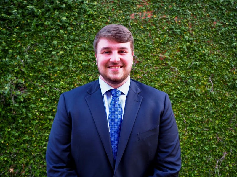 Brooks Jones, candidate for SGA President on Tues., Jan. 29, 2019 in Auburn, Ala.