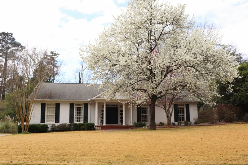 Auburn Floral Trail takes viewers through Auburn neighborhoods to view beautiful blooming flowers and trees.