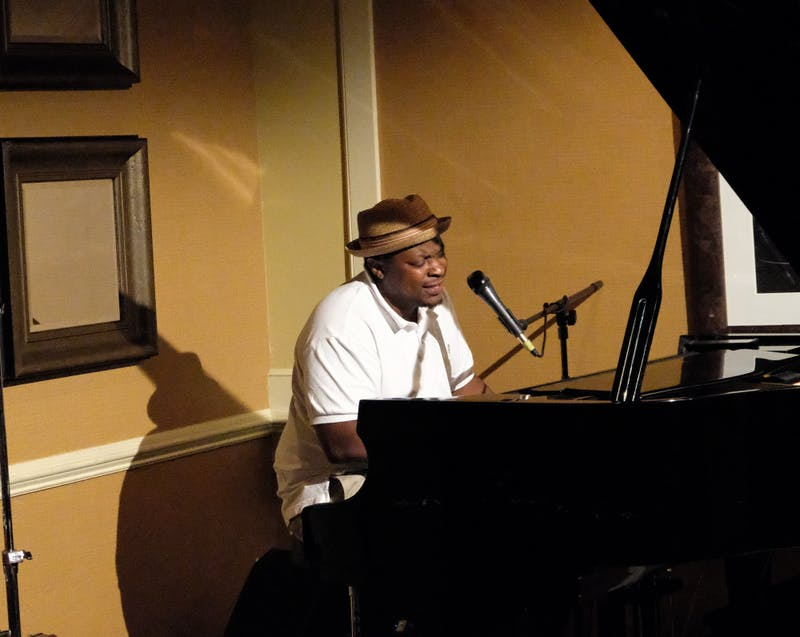 Kenny Heard plays at the Piccolo Lounge in Auburn, Ala. on June 21, 2018.