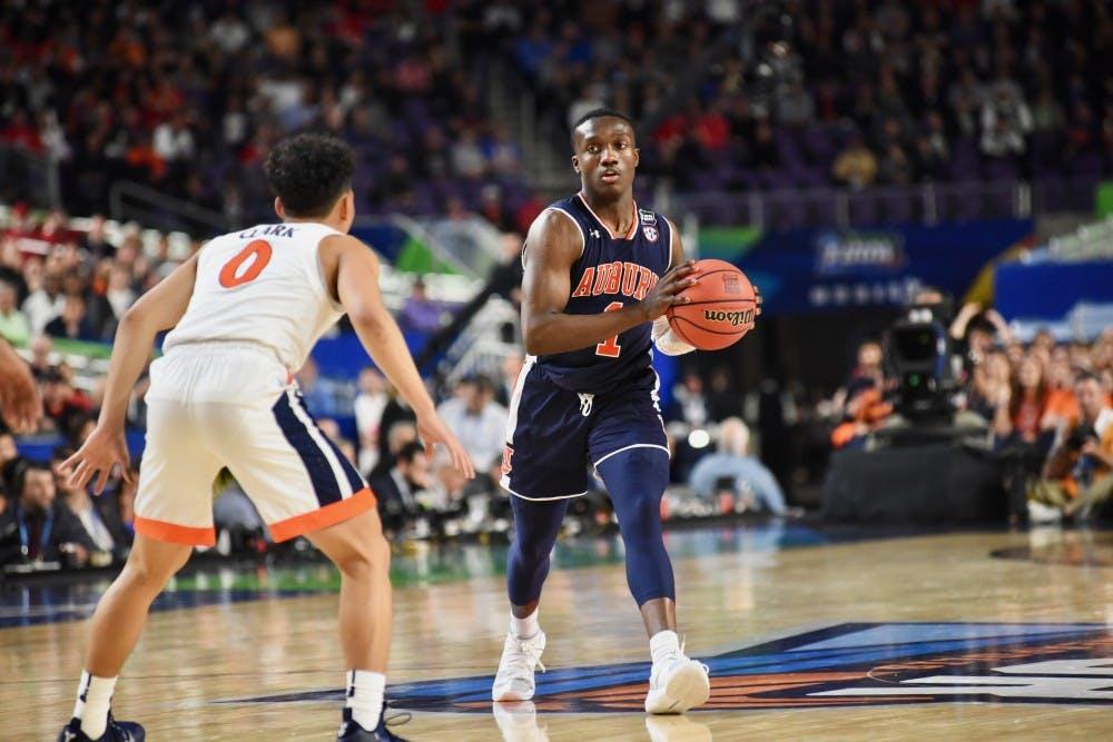 Auburn point guard Jared Harper declares for NBA Draft, forgoes senior year