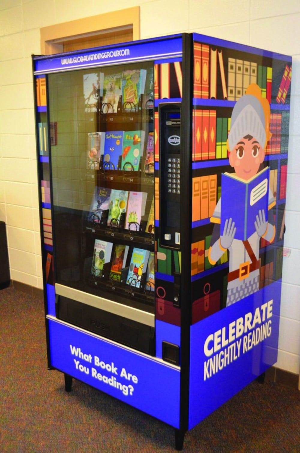 Yarbrough Elementary School installs book vending machine