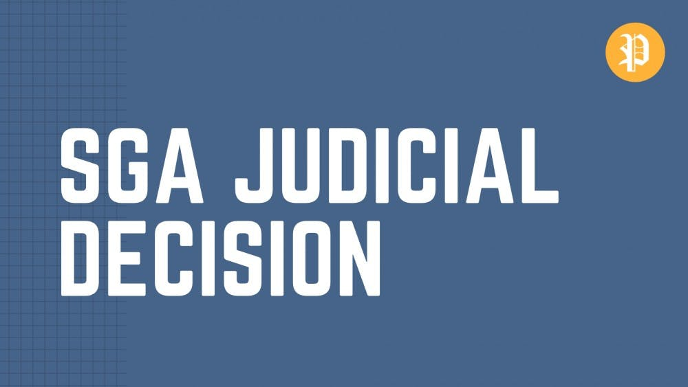 NOTICE | SGA Judicial releases decision on candidate eligibility