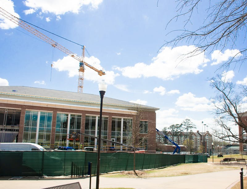 The Edge at Dining Central Dining is nearing the end of construction and will open to students in the fall 2021 semester.