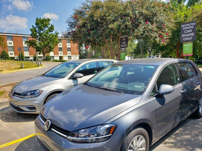 Zipcar is now available on Auburn's campus at a discounted price for students.