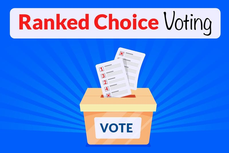 The Student Senate is set to consider an amendment that would implement a ranked-choice voting system for student elections. The amendment would need to be passed by the student body.