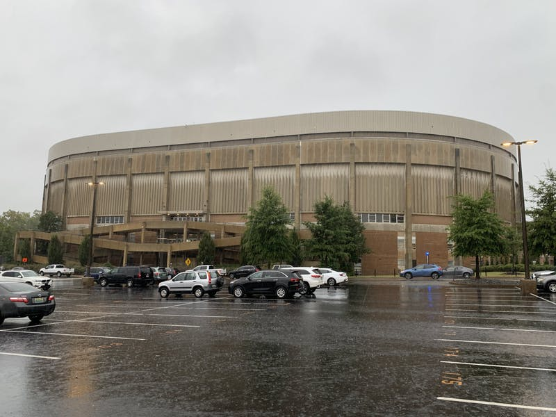 Auburn University offered vaccines in Beard-Eaves Memorial Coliseum in spring and will provide booster shots there this semester.