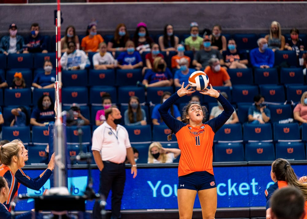 Auburn volleyball faces Ole Miss in a battle for the top of the SEC