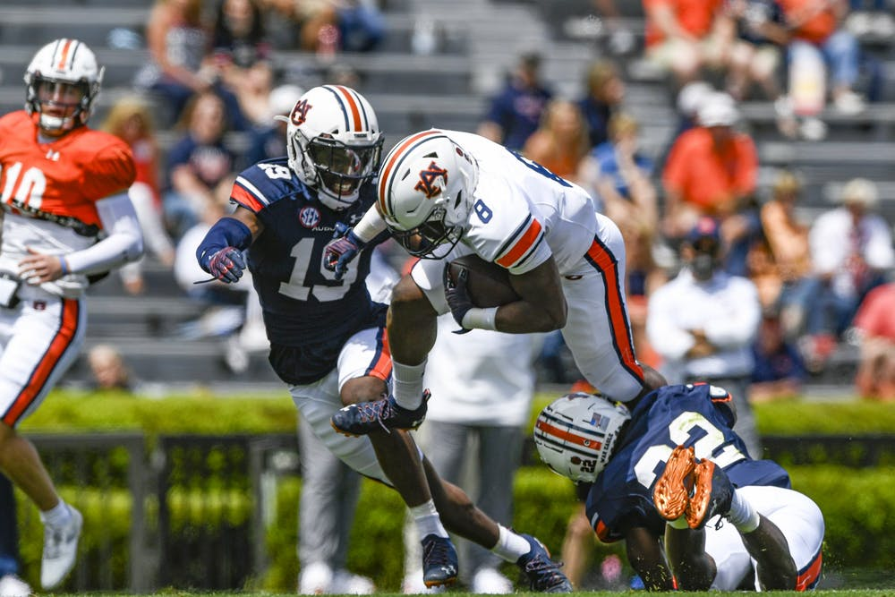 Auburn's defense shines on A-Day