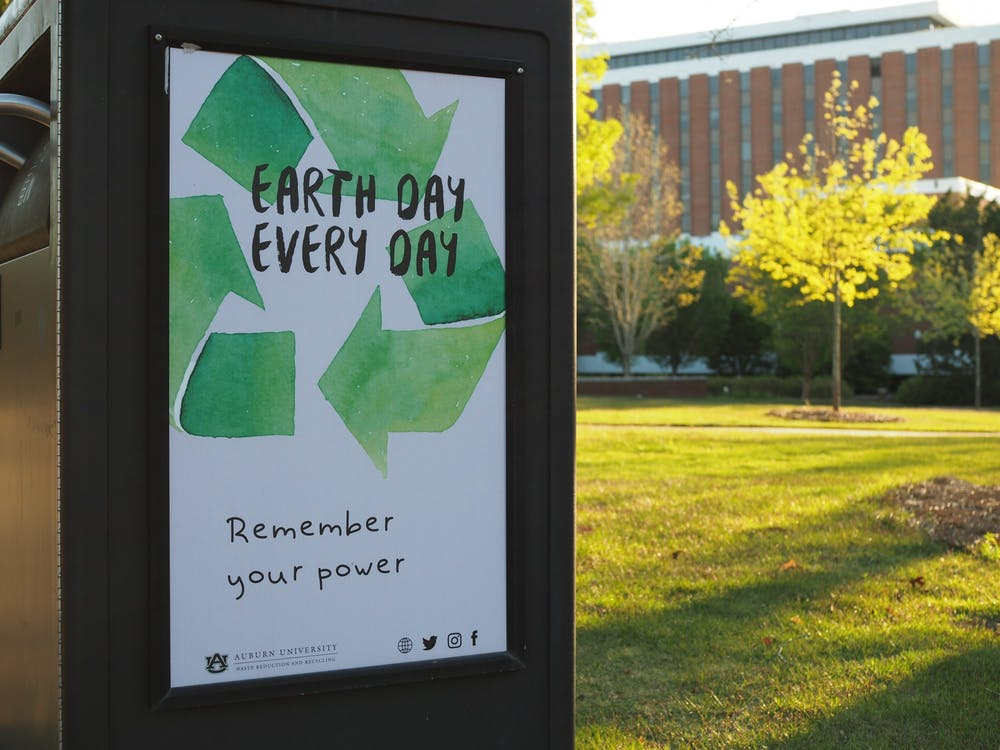 The University celebrates Earth Day with an extravaganza