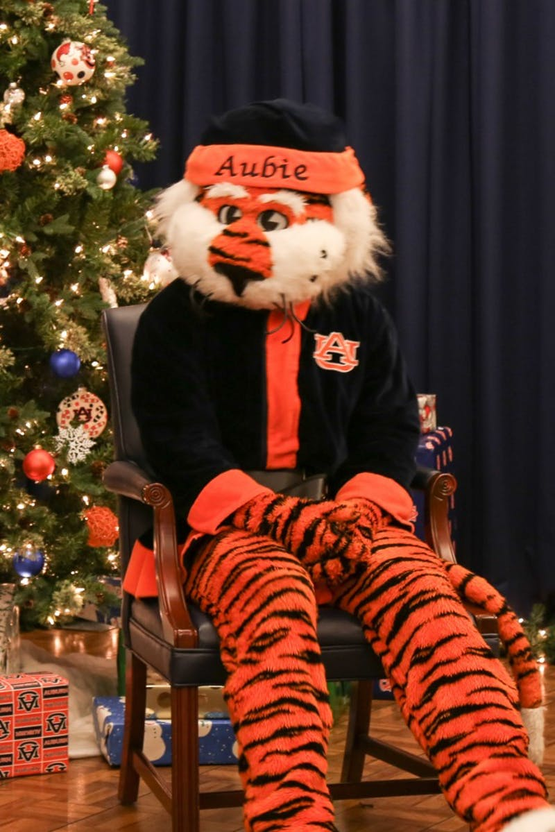 Aubie Claus returns for the holiday season in accordance with COVID-19 guidelines.