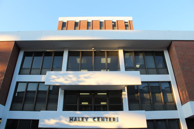 Haley Center, the home of Auburn's College of Education.