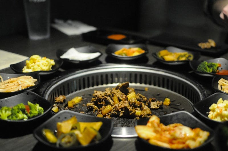"""Chuseok, also known as """"Korean Thanksgiving,"""" is being held in Foy Hall as a luncheon event."""