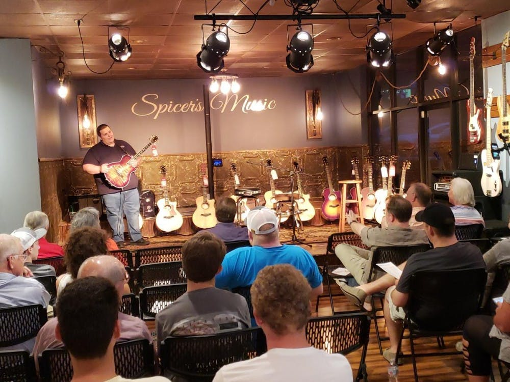 "Local music store hosts ""Find Your Fit"" guitar workshop"