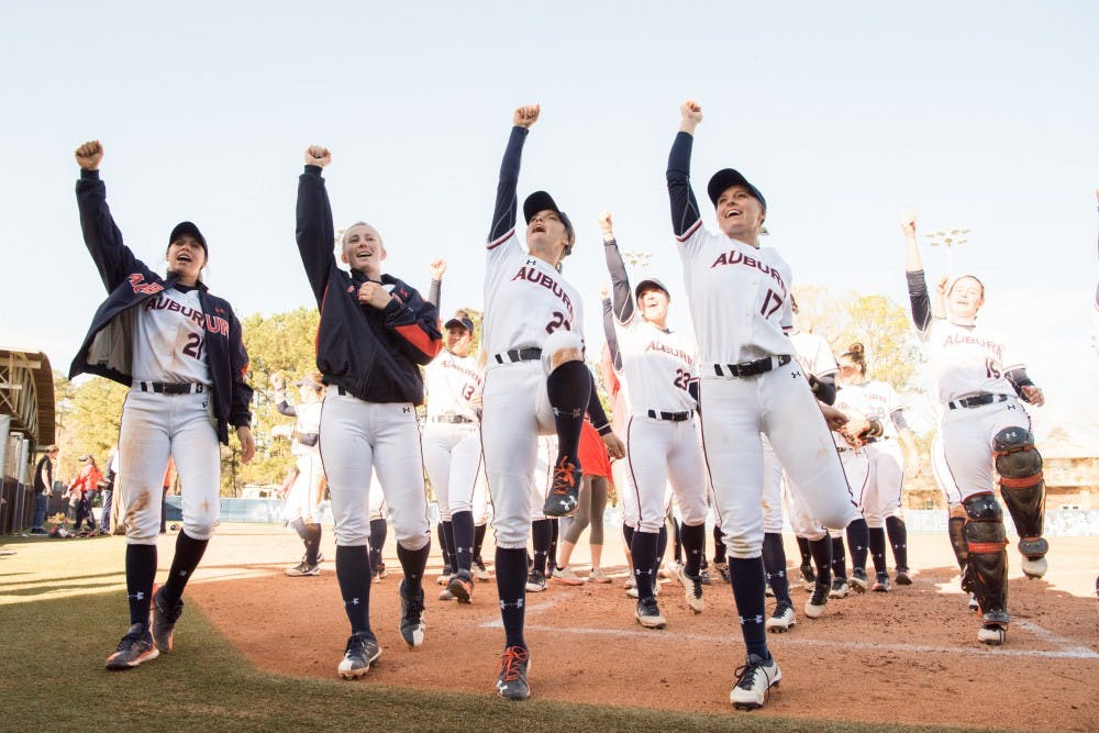 Auburn softball releases 2019 schedule