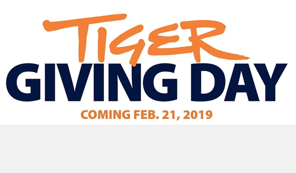 Tiger Giving Day will raise money for over 20 campus projects on Feb. 21
